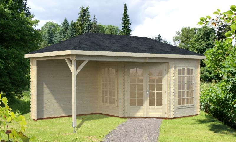 de jardin Pavillon MELANIE 6.8 + 8.3 M²