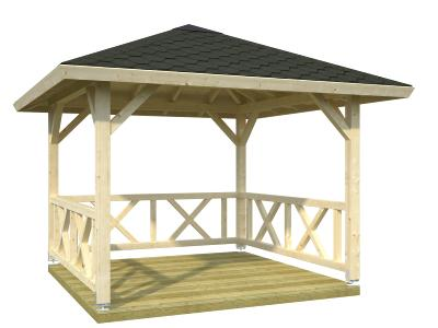 Kiosque - Gloriette BETTY 9 m²