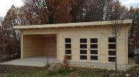 Abris de jardin bois trait autoclave chalets garages et for Garage bois traite