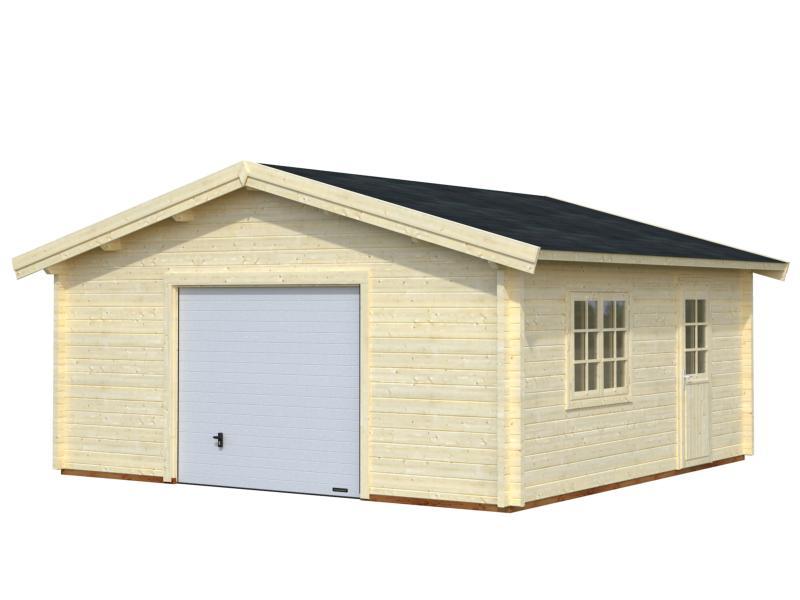 Garage bois palmako de 19 m marin eco bois - Garage de madera ...