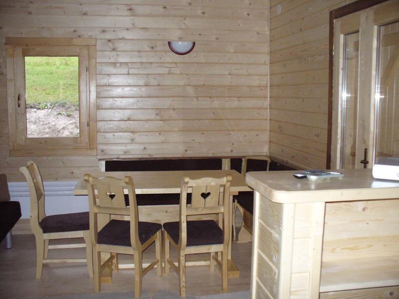 Chalet habitable en bois de 36 m marin eco bois - Abri de jardin habitable avec mezzanine strasbourg ...