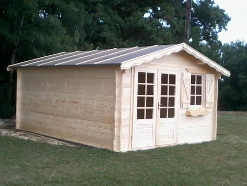 Chalet bois jardin vente abri de jardin en bois de 16 m en 28 mm - Abris de jardin 28mm ...
