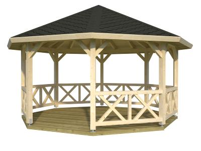 Kiosque - Gloriette BETTY 18 m²