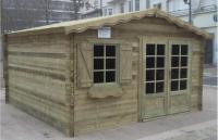 garage bois 28 mm